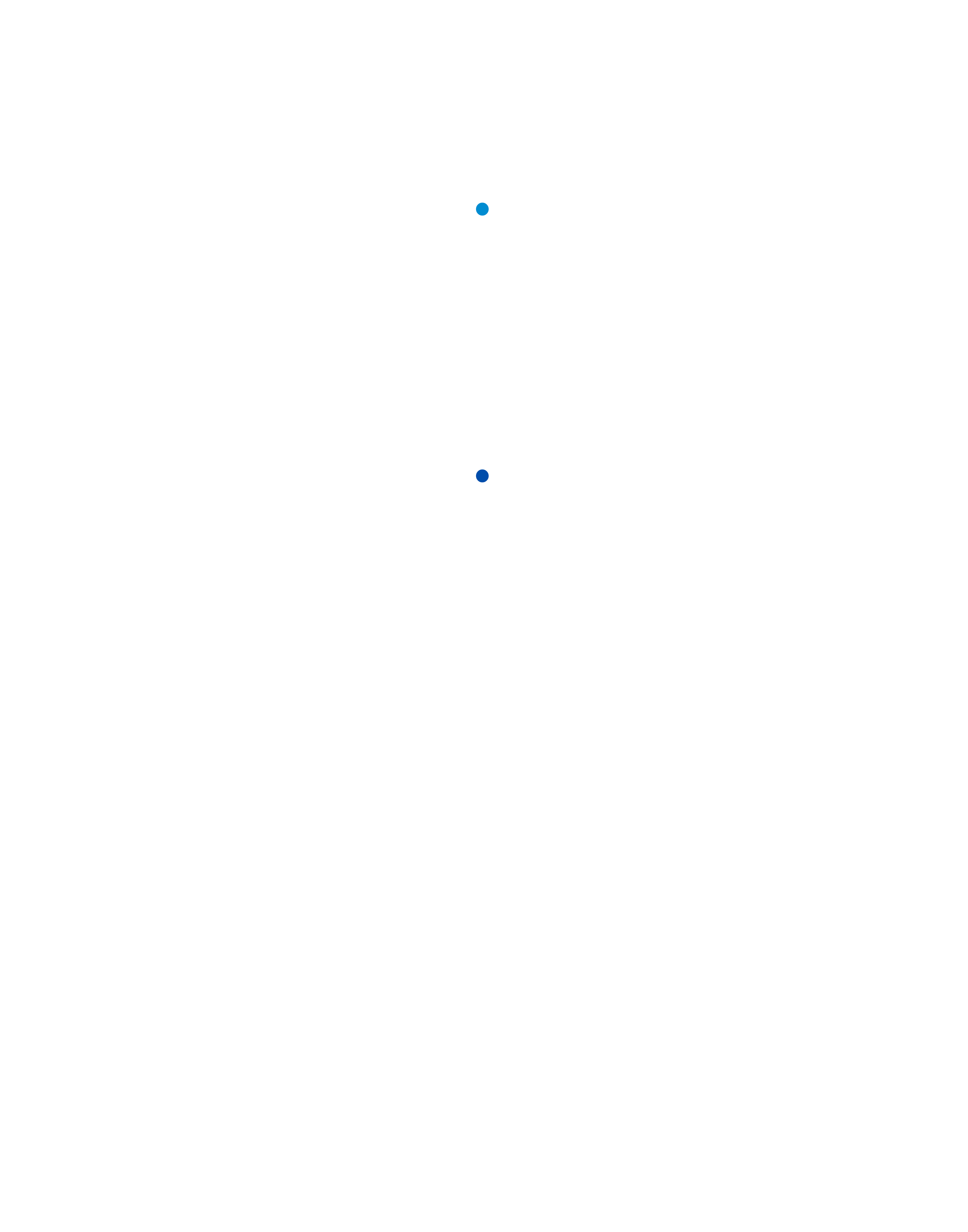A timeline graphic showing key milestones in Merici College's academic transition over the past 8 years.